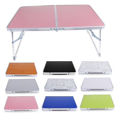 Mdf Top Portable Folding Table Indoor Outdoor Dining Camping Picnic Party Desk