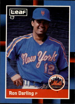 Ron Darling New York Mets Ny Signed Sports Illustrated Si