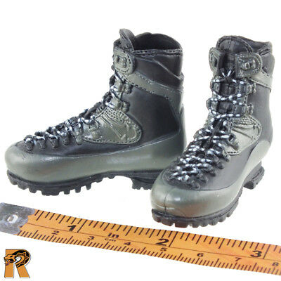 Grey Boots for Pegs Abbas Ghar SEAL #2-1//6 Scale Mini Times Figures