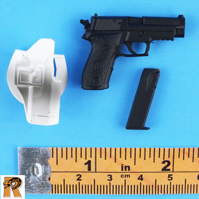 P226 Pistol w// Holster Mini Times Action Figures Alex SEAL Six 1//6 Scale