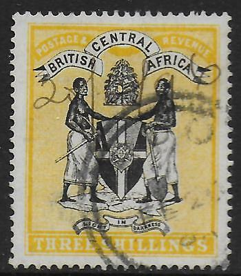 British Central Africa stamps 1895 SG 27 CANC VF