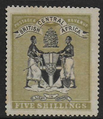 British Central Africa stamps 1895 SG 28 UNG VF
