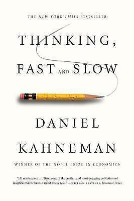 Thinking, Fast and Slow (International Edition) by Kahneman, Daniel, NEW Book, (