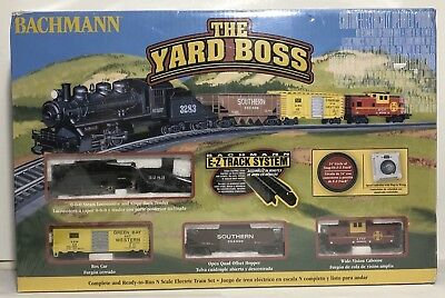 SEALED Bachmann The Yard Boss Complete N Scale Electric Train Set 24014 BNIB