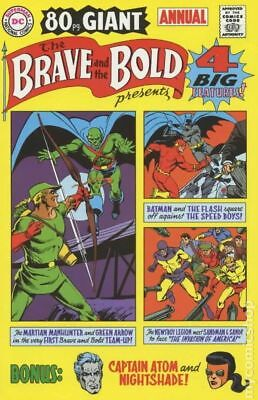 Brave and the Bold 1969 Annual Reprint #1 2001 VF+ 8.5 Stock Image