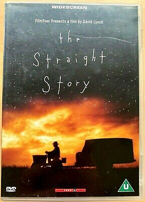 The Straight Story ~1999 David Lynch Old Man Tractor Road Film Classico UK DVD