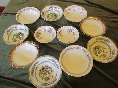 Fine Selection Of Mismatch China Bowls Ideal For Parties, Weddings, Tearooms