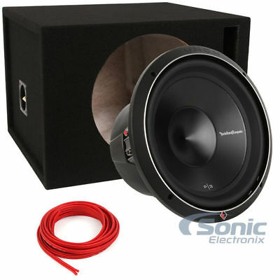 Rockford Fosgate Punch P3D2-12 + Vented Enclosure
