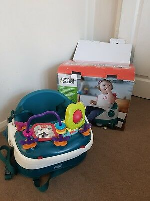 Mamas And Papas Baby Bud Booster Feeding Wth Play Tray