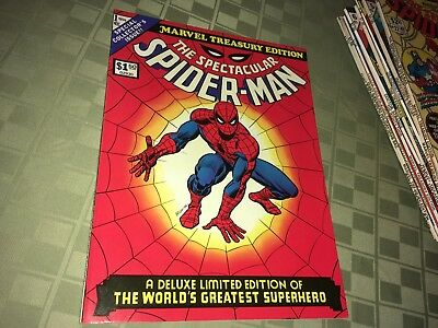 The Spectacular Spider-Man 1974 Marvel Treasury Edition Oversize Comic Book #1