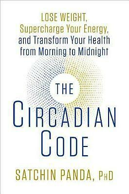 Circadian Code by Phd Satchin Panda (English) Hardcover Book Free Shipping!