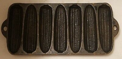 Vintage Wagner Ware Cast Iron 7-Cob Corn Stick Muffin Bread Pan Made in USA
