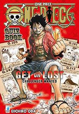 manga ONE PIECE QUIZ BOOK -  nuovo italiano - star comics
