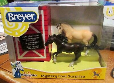 2018 Breyer SM Horses Mystery Foal Surprise Family #12 Lusitano & Andalusian NIB