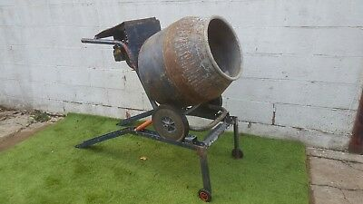 Belle Cement / Concrete Mixer With Petrol Engine & Stand