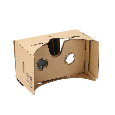 Google Cardboard VR Kit with Lens Magnets No NFC Virtual Reality 3D Glasses X4M3