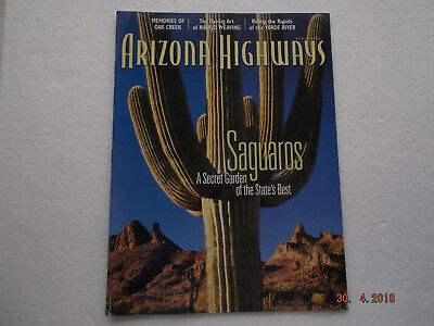 Arizona Highways Magazine, Saguaros, Zeitschrift vom April 2002