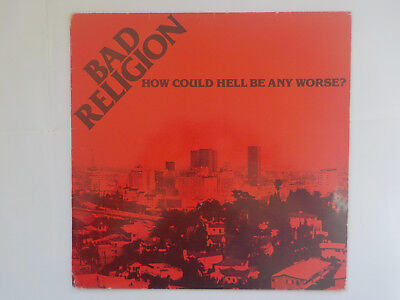 BAD RELIGION - How Could Hell Be Any Worse * Vinyl LP Punk Rock Hardcore Import
