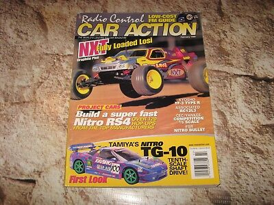 Rc Car Action >> Vintage Rc Car Action Magazine Losi Kyosho Tamiya Associated Used