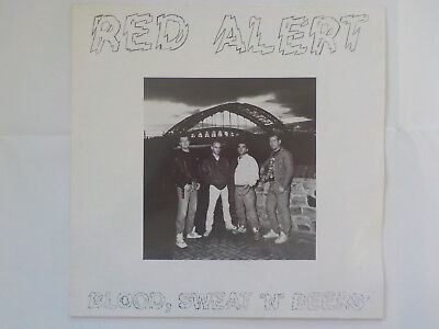 RED ALERT - Blood, Sweat 'N' Beers * LP + Textbeilage Oi Punk Knock Out 1992