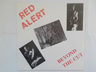 RED ALERT - Beyond The Cut * LP + Textbeilage Oi Punk Knock Out 1993