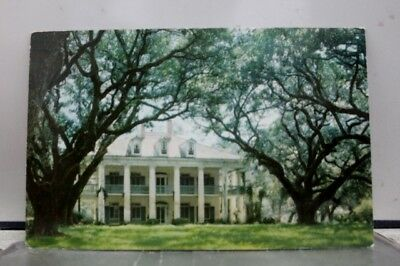 Louisiana LA Vacherie Oak Alley Plantation Postcard Old Vintage Card View Post
