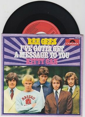 """"""" The Bee Gees """"---I""""ve gotta get a Message to you---   -TOP -"""