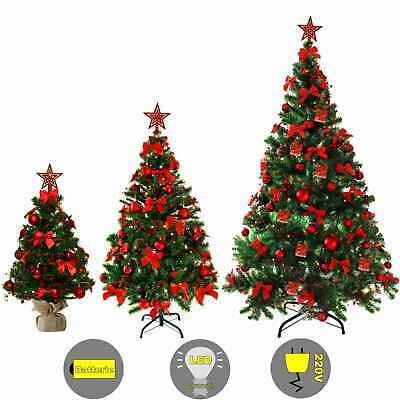 weihnachtsbaum geschm ckt tannenbaum christbaum tanne mit 20 warmwei en led 75cm eur 19 90. Black Bedroom Furniture Sets. Home Design Ideas
