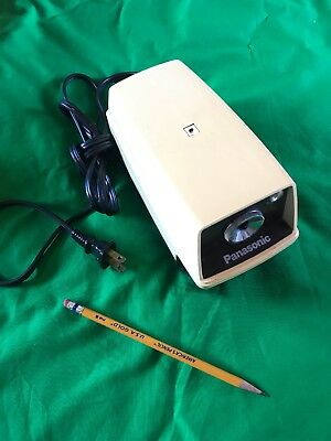 Vintage Panasonic KP-33 Auto-Stop w/ Light Electric Pencil Sharpener