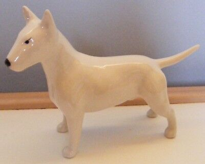 Small Beswick **english Bull Terrier ** Model 1753 In White -- Not In Book