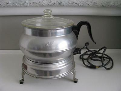 Vintage Popex Aluminum Popcorn popper Electric Super Clean