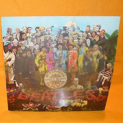 "1979 The Beatles - Sgt. Pepper's Lonely Hearts Club Band Uk 12"" Lp Vinyl Record"