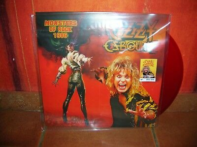 Ozzy Osbourne - Monsters Of Rock Tour Show Lp Ultrarare & Great Collector !!!