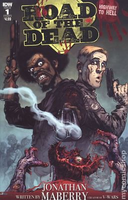 Road Of The Dead Highway To Hell (IDW) 1A 2018 Santiperez FN Stock Image