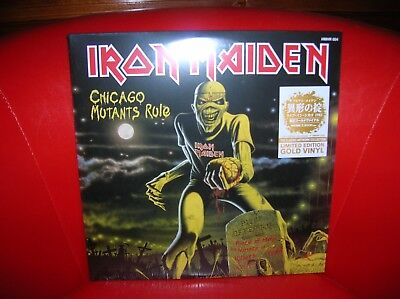 Iron Maiden - Mutants Tour Show 2Lp Ultrarare & Great Collector + Big Poster !!!