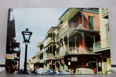 Louisiana LA St Peter Street New Orleans Postcard Old Vintage Card View Standard