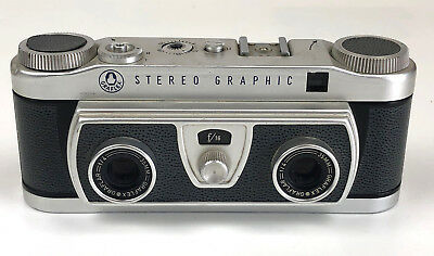 Graflex Stereo Graphic Camera-PARTS/REPAIR