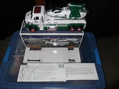 2014 Hess 50th anniversary toy truck and space cruiser with scout new in box