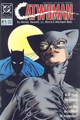Catwoman (1st Series) #4 1989 VF Stock Image