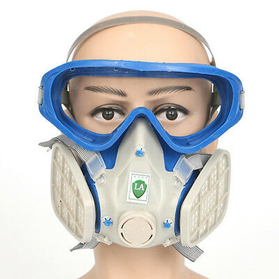Full Face Silicone Respirator Mask Protection Painting Soldering