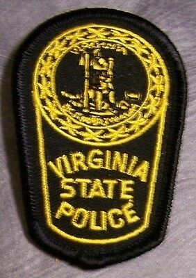 Embroidered Police Patch Virginia State NEW