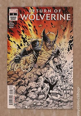 Return of Wolverine (Marvel) 1P 2018 McNiven Fade Variant NM 9.4