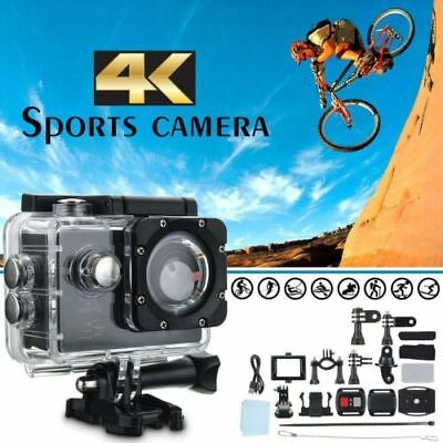 AU Gopro Wifi + Camera 30PCS 4K Ultra Video Accessories Waterproof Action HD