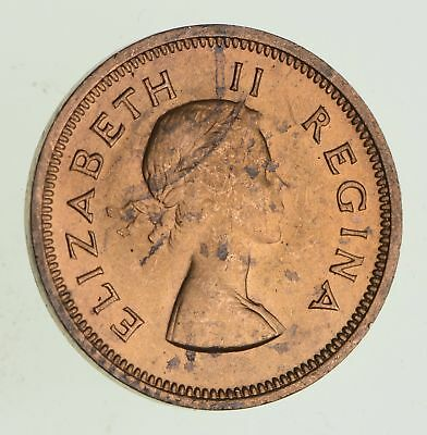 1954 South Africa 1/4 Penny - Historic World Coin *677
