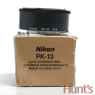 NIKON PK-13 27.5mm AI MOUNT MANUAL FOCUS EXTENSION TUBE