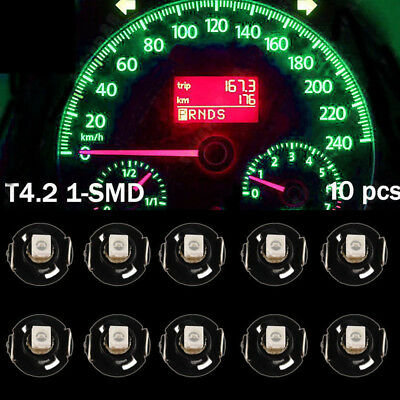 10X Green T4/T4.2 Neo Wedge LED Bulb Cluster Instrument Dash Light WYS Sales