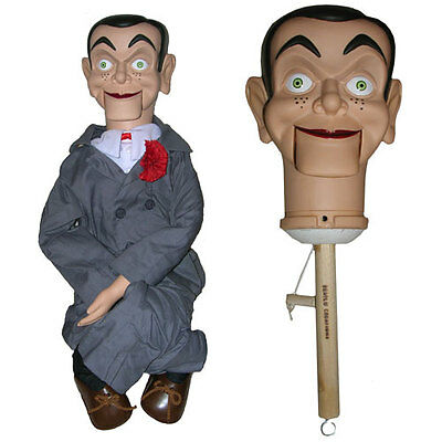 Slappy upgraded Semi-Pro Ventriloquist Doll Puppet Dummy - BUY DIRECT-SALE