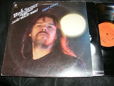 BOB SEGER & The Silver Bullet Band NIGHT MOVES LP 1976 RCA Music Club Issue