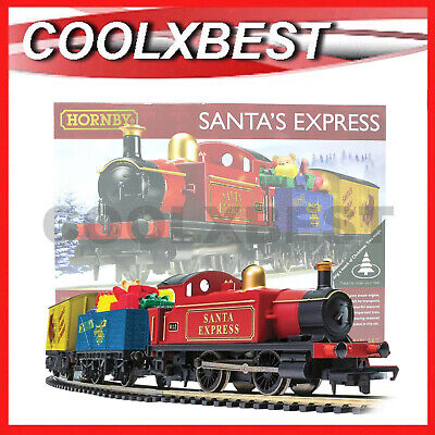 NEW HORNBY SANTA's EXPRESS ELECTRIC TRAIN SET ULTIMATE CHRISTMAS TREE DECORATION