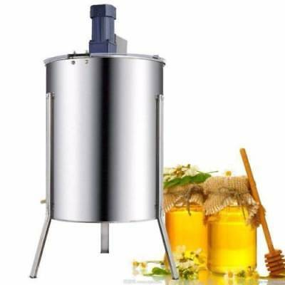 4 Frame Electric Honey Extractor Beekeeping Hive Spinner